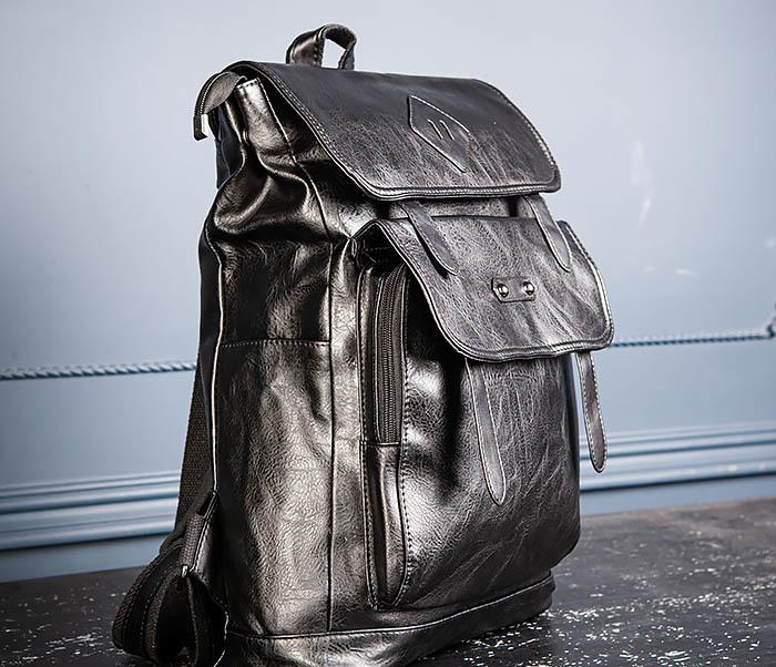 BAG531-1 Большой рюкзак из искусственной кожи фото 05