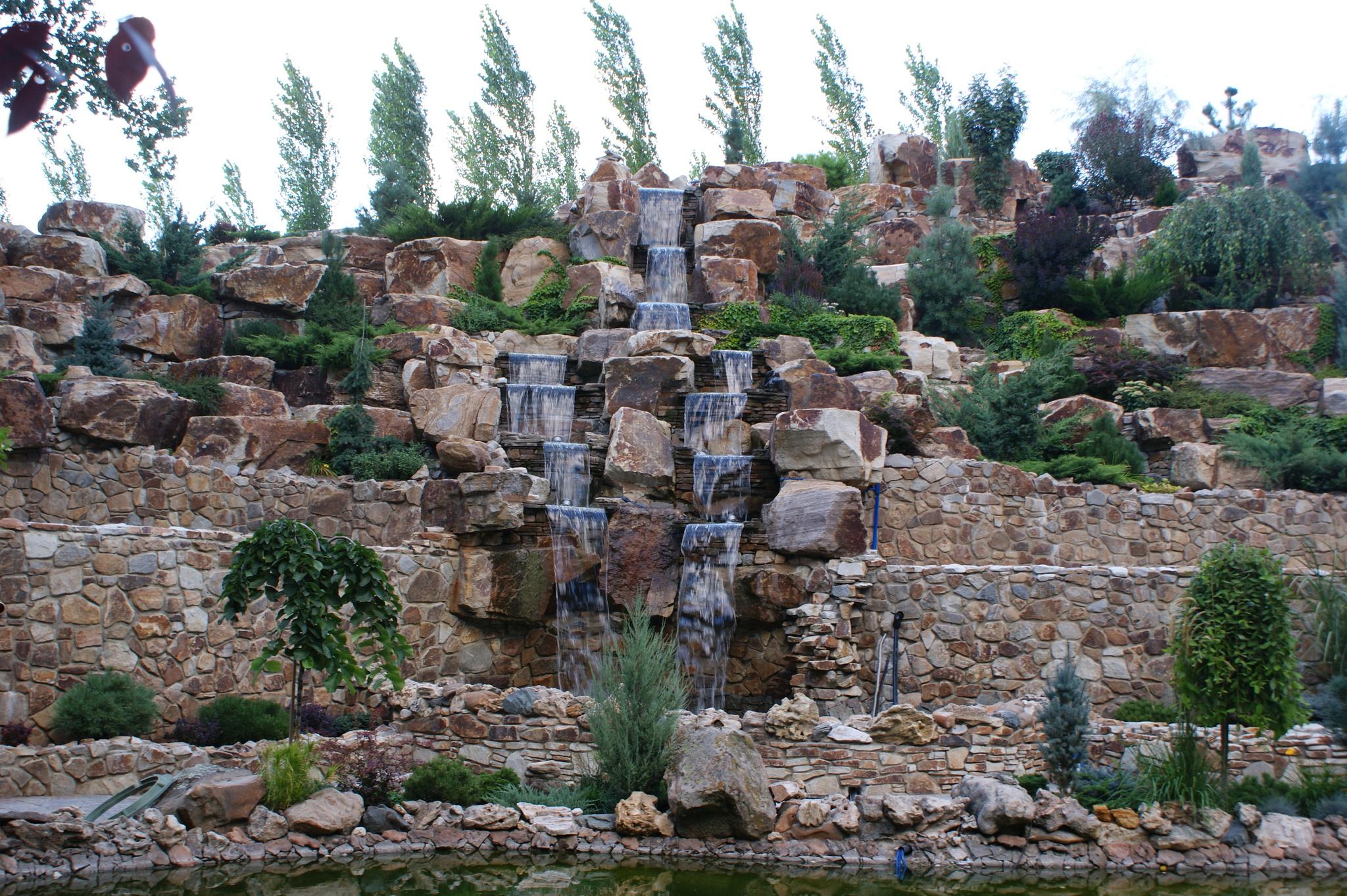 Использование всех видов и фракций бутового камня Кантри