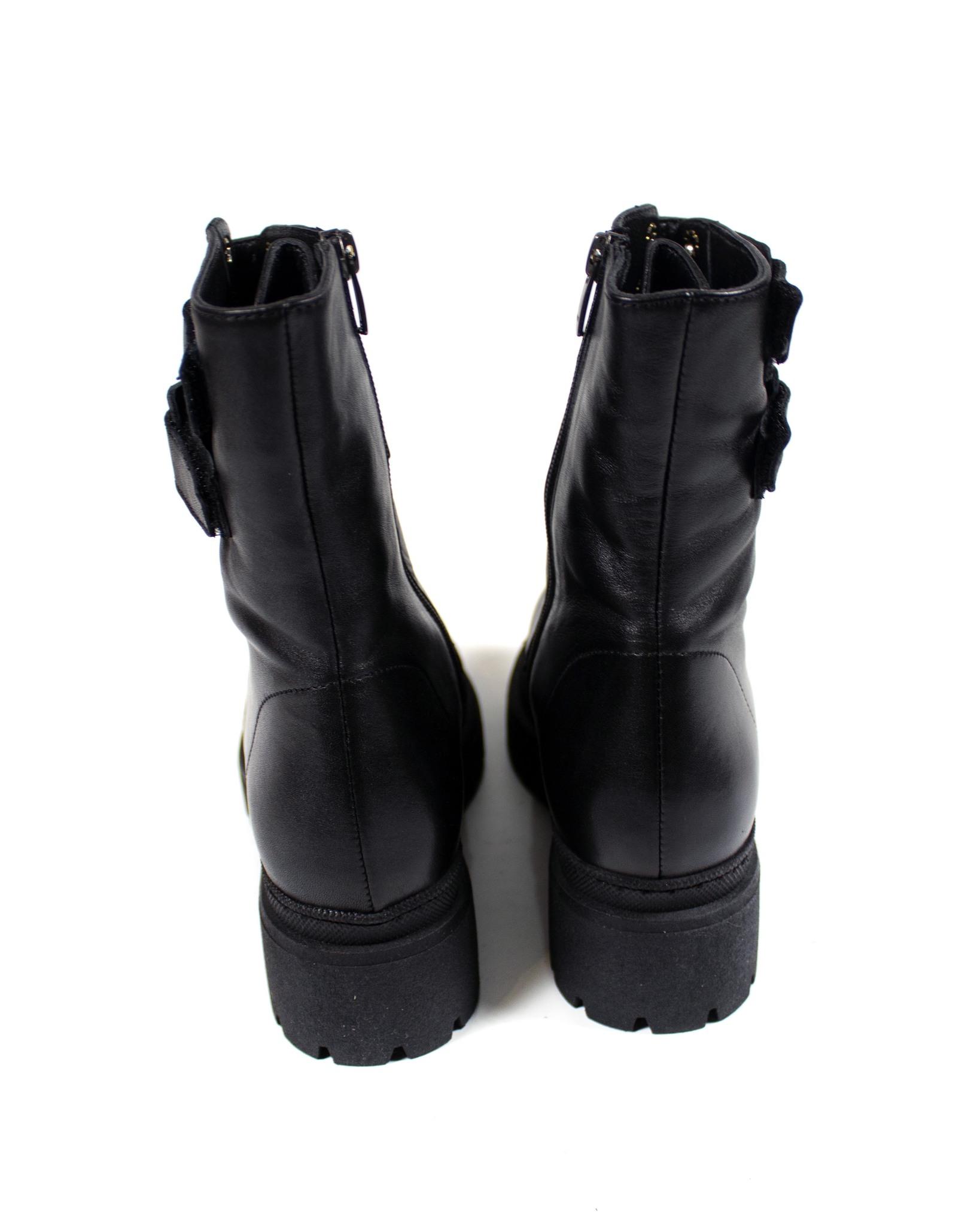черные ботинки Magnoliya