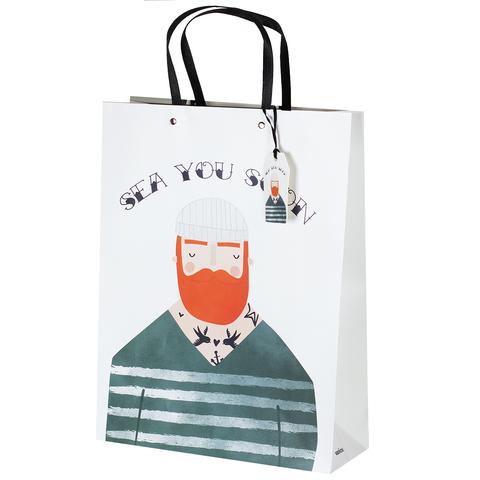 Пакет подарочный Gentleman 32*42*11.5 2