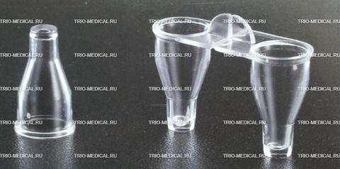 Кюветы стрипованные для полуавтоматического коагулометра CORMAY KG-4 1уп/1000 шт (500 стрипов)