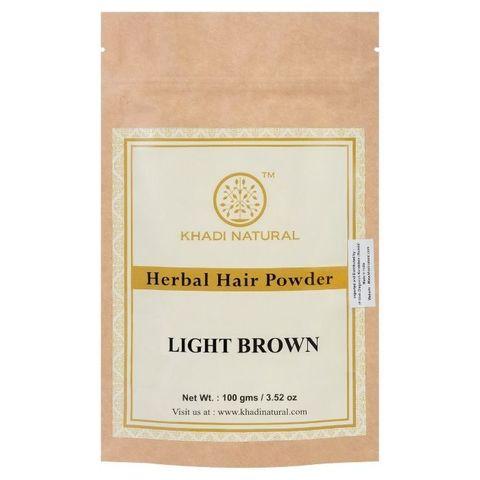 Хна для волос светло-коричневая Khadi Natural, 100 гр