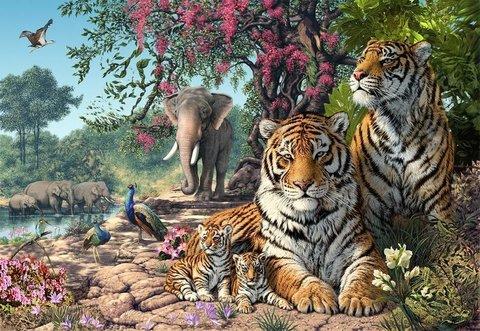 Алмазная Мозаика 20x30 Дружелюбный животный мир (арт. ТС3186)
