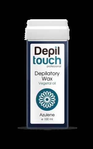 Теплый воск Depiltouch с азуленом 100 мл