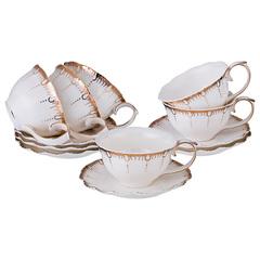 Чайный набор из фарфора на 6 персон  Герцогиня