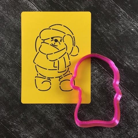 Мишка Тедди №12 в шапочке и шарфе
