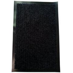 Коврик входной влаговпитывающий ворсовый Т202/5 50х80см темно-серый