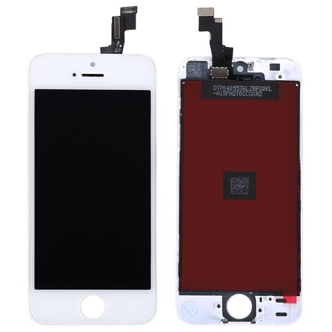 LCD Apple iPhone 5S White (LT / AAA)