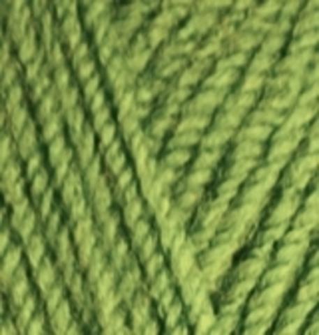 Пряжа Burkum Alize 210 Зеленый, фото