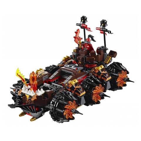 LEGO Nexo Knights: Роковое наступление генерала Магмара 70321 — General Magmar's Siege Machine of Doom — Лего Нексо Найтс Рыцари Кнайтс