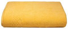 Простыня Plait желтая махр.