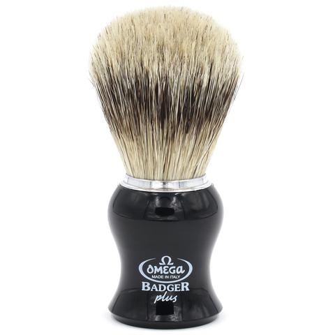 Помазок для бритья Omega super Badger plus B6206 Барсук +