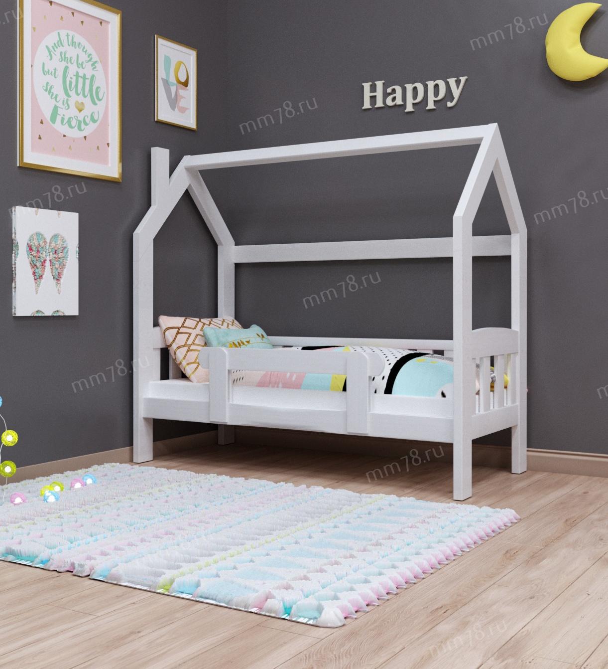 Детская кровать Тахта Домик Сказка