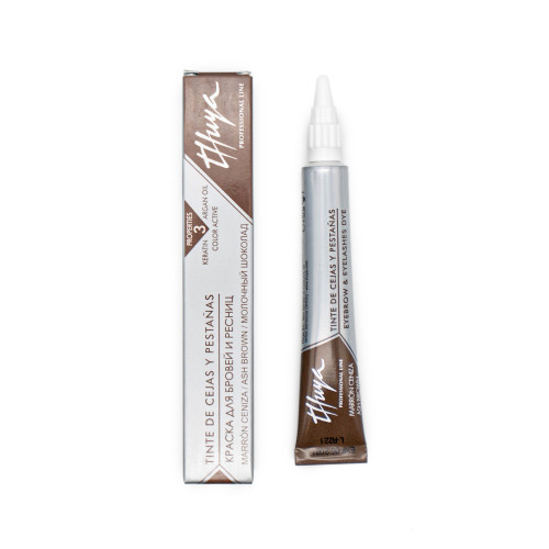 Краска для бровей  и ресниц Thuya молочный шоколад 14 мл