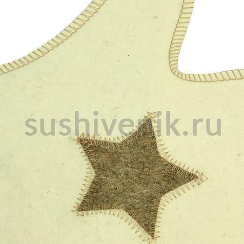 Белая рукавица Звезда