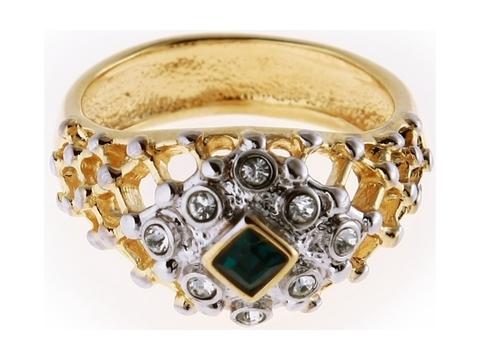 Кольцо с позолотой Шарлотта