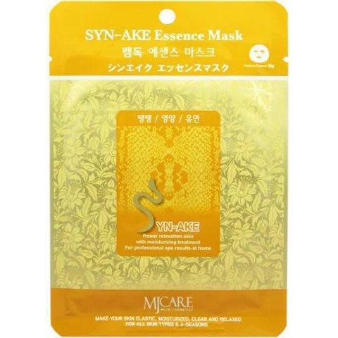 Тканевая маска для лица пептид змеи MIJIN Care Mask