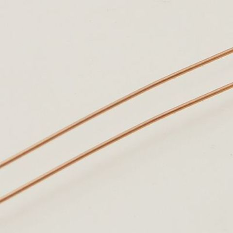 Проволока для плетения 0,4 мм 5 м цвет медный