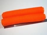 Пыльники вилки 360мм оранжевые Suzuki DR 250
