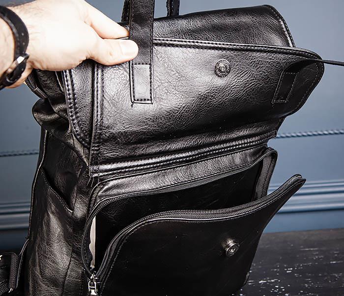 BAG531-1 Большой рюкзак из искусственной кожи фото 09