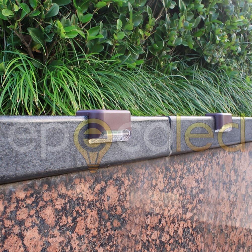 Угловой светильник EPECOLED коричневый (на солнечной батарее)