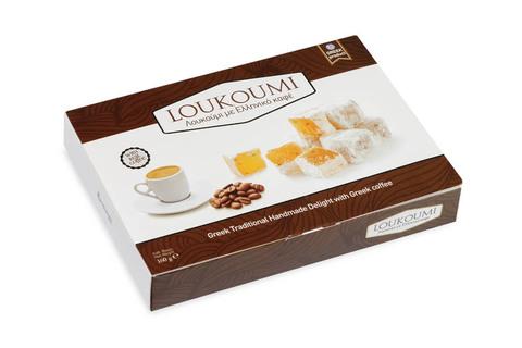 Лукум с греческим кофе Candianuts 160 гр