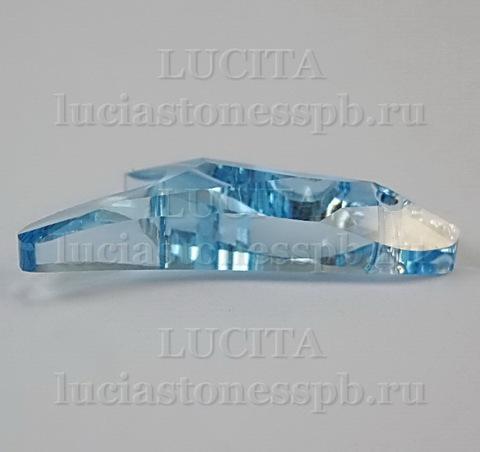 6791 Подвеска Сваровски Коралл Aquamarine (25 мм) ()