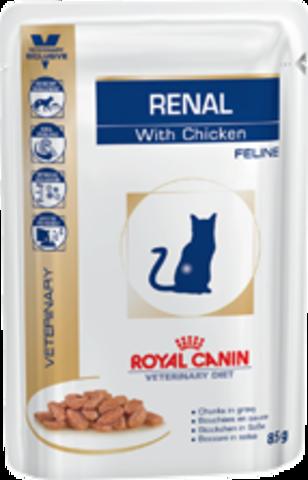 Royal Canin Renal c курицей для кошек при ХПН