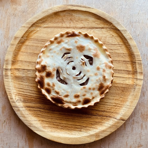 «Фыдджын» - осетинский пирог с мясом.