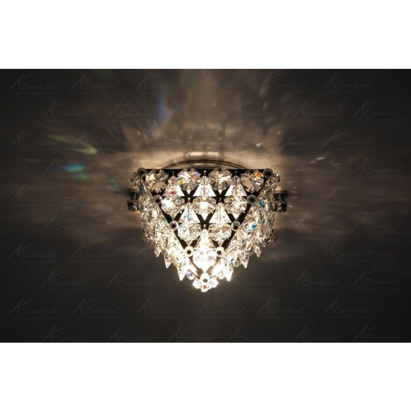 Встраиваемый светильник Kantarel Cairo CD 016.2.1 crystal(5000)