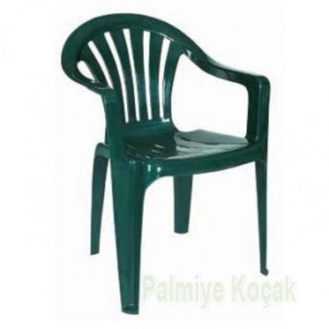 Пластиковое кресло HK-100 FESTIVAL зеленое (Турция)