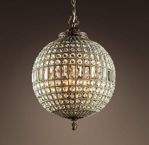 Подвесной светильник копия 19th C. Casbah Crystal Chandelier 18