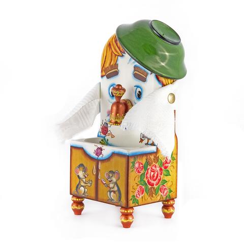 Деревянная игрушка Мойдодыр