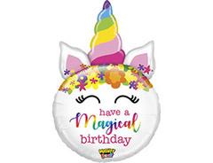 Б Фигура, Единорог, HAVE MAGICAL BIRTHDAY, 33