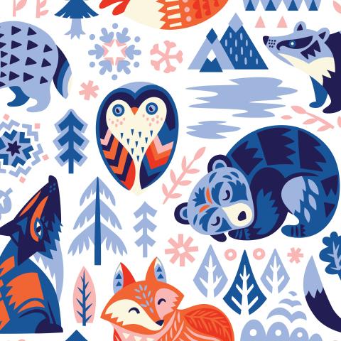Скандинавские животные