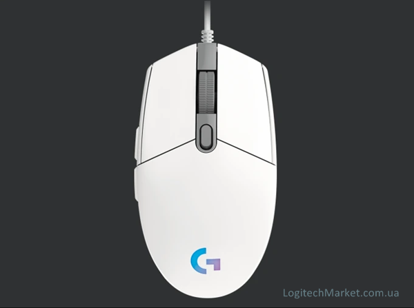 LOGITECH G102 Lightsync White