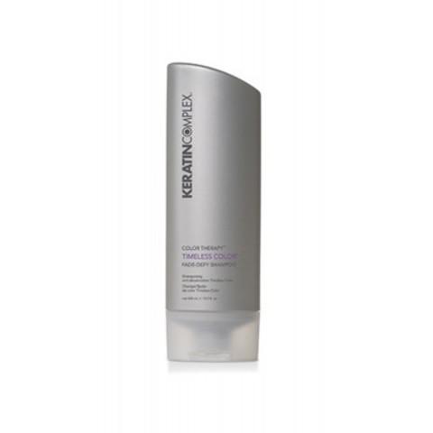 Keratin Complex: Шампунь для поддержания яркости цвета окрашенных волос (Timeless Color Fade-Defy Shampoo), 400мл/1000мл