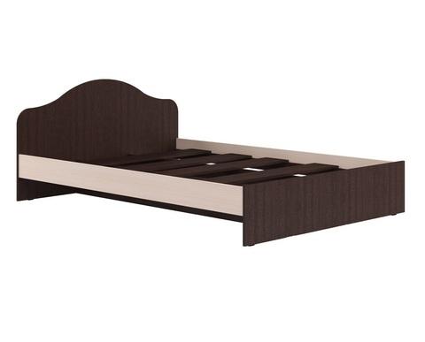 Кровать Кр-2  дуб выбеленный / венге