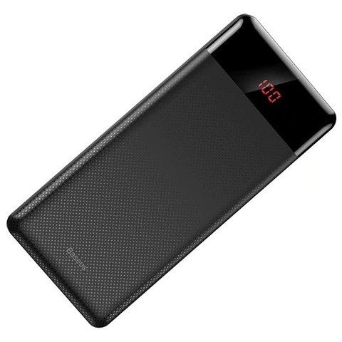 Аккумулятор Baseus M35 Mini Cu power bank, 10000 mAh Black
