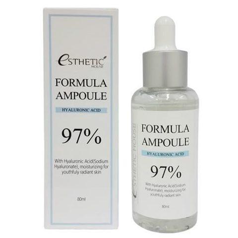 Esthetic House Formula Ampoule Hyaluronic Acid сыворотка для лица с гиалуроновой кислотой