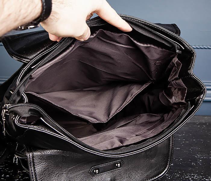 BAG531-1 Большой рюкзак из искусственной кожи фото 11