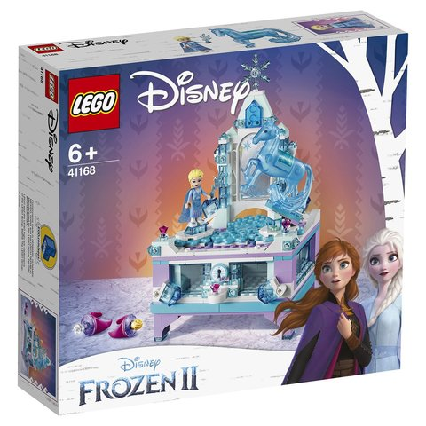 LEGO Disney Princess: Шкатулка Эльзы 41168 — Elsa's Jewelry Box Creation — Лего Принцессы Диснея