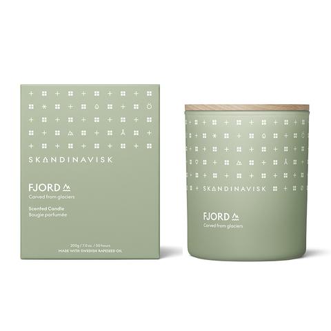 Свеча ароматическая FJORD с крышкой, 200 г (новая)