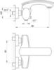 Смеситель для ванны/душа Migliore Flo ML.FLO-7008 , хром