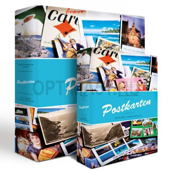 Альбом для почтовых открыток включая 50 листов по 4 отделения на странице