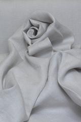 Интерьерная льняная ткань цвет ЖЕМЧУГ