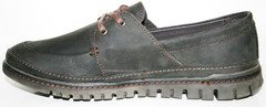 Туфли мужские кожаные. Мужские коричневые туфли Belvas Brown.