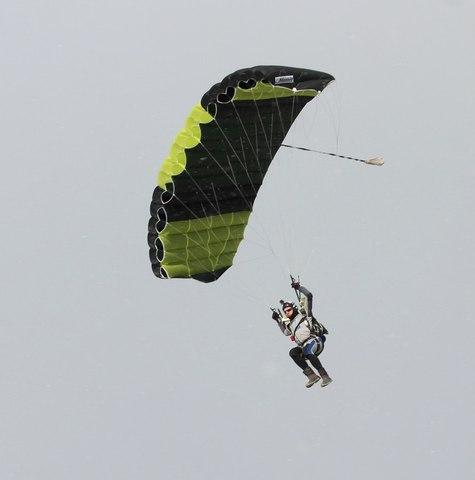 Skylark Odyssey - Основной парашют
