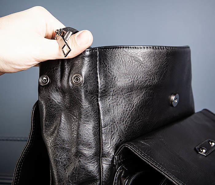 BAG531-1 Большой рюкзак из искусственной кожи фото 12