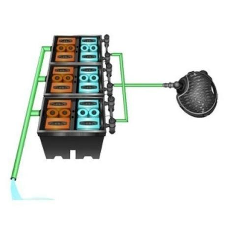 Проточный фильтр с насосом для пруда Pondtech Bio System 3 (150 м3)
